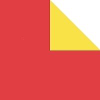 origami loisirs papier bicolore rouge jaune papier origami bicolore. Black Bedroom Furniture Sets. Home Design Ideas