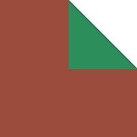 origami loisirs papier bicolore marron vert papier origami bicolore. Black Bedroom Furniture Sets. Home Design Ideas